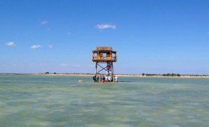 A lagoon in Madagascar