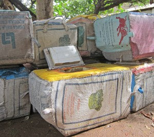 Ice boxes made locally in The Gambia (CREDIT: Kristine Beran)