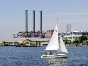 The Providence waterfront. (credit: RI Sea Grant)